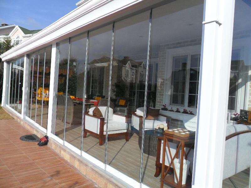 Inicio cerramientos de terrazas cortinas de cristal - Cortinas de cristal alicante ...