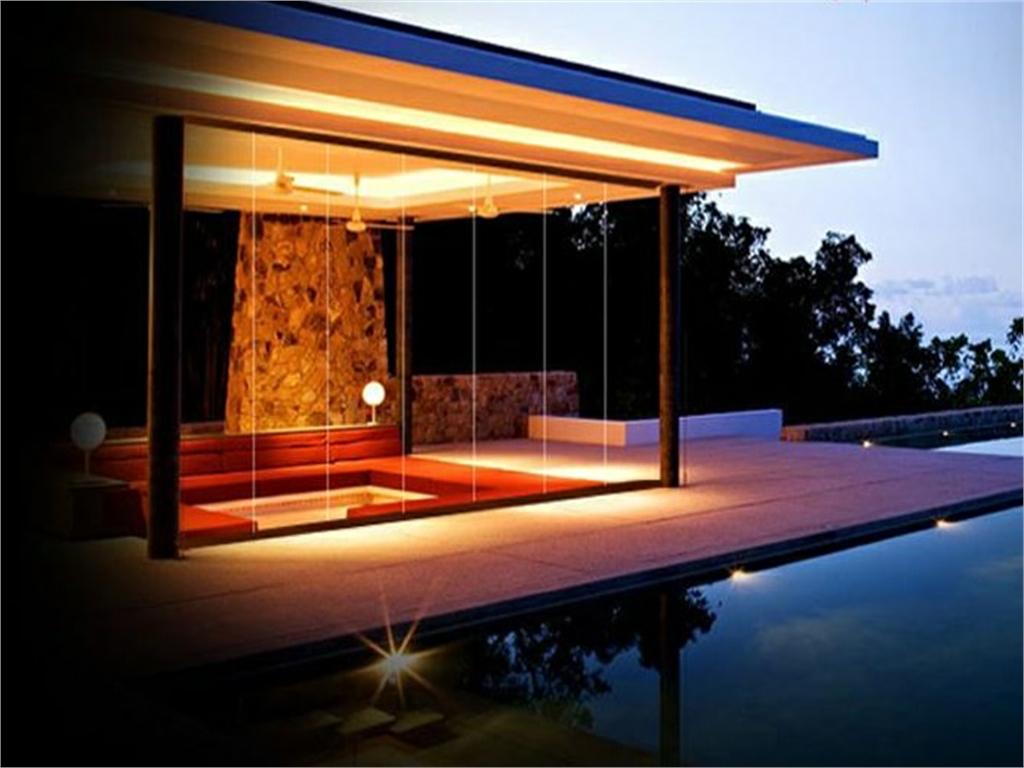 Cerramientos de terrazas cortinas de cristal proftek for Cortinas de cristal para terrazas
